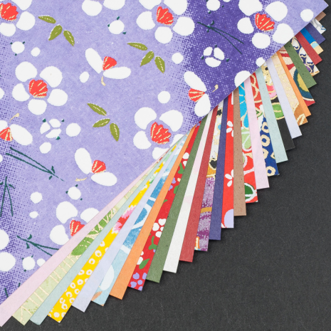 Medium Washi Japanese Origami Paper detail