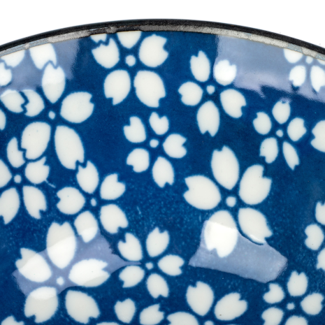 Sakura Traditional Japanese Tayou Bowl detail