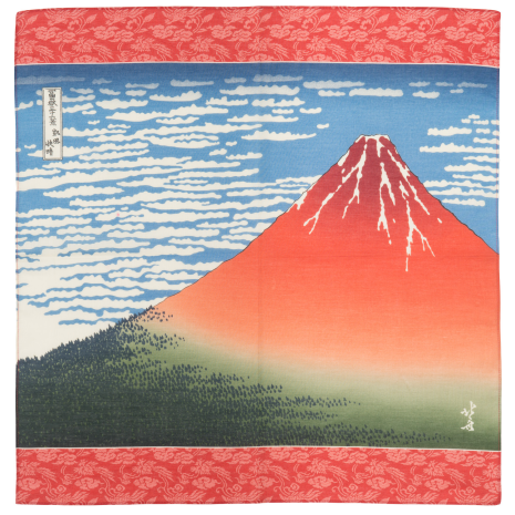 Mount Fuji Quality Japanese Handkerchief