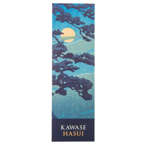 Full Moon at Magome Japanese Paper Bookmark
