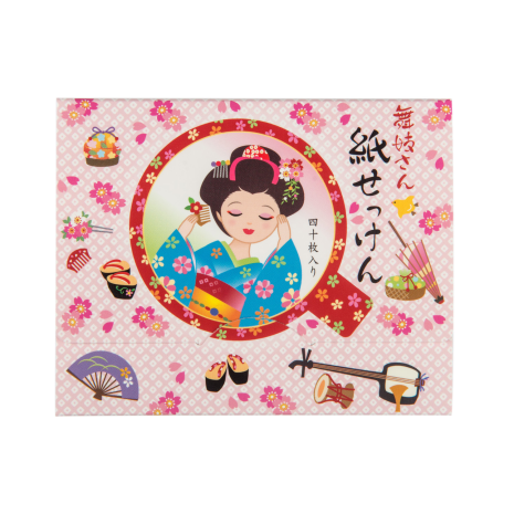 Pretty Pink Maiko Paper Japanese Soap