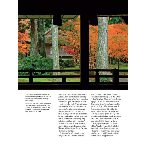 The Art of the Japanese Garden Book example page 1
