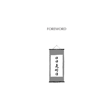 The Wisdom of Tea Japanese Book forward page