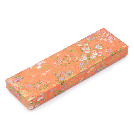 Washi Paper Coloured Japanese Pencil Box and lid