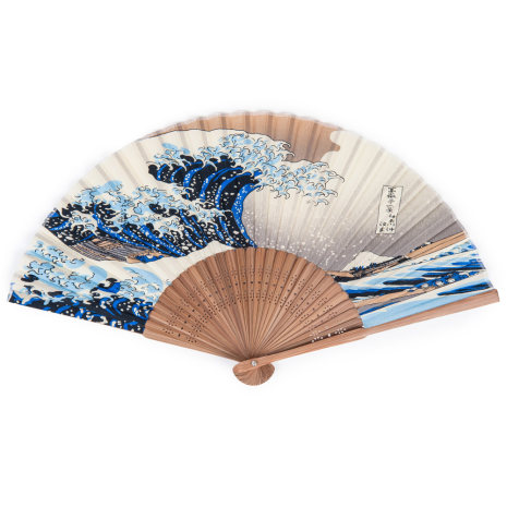 The Great Wave Japanese Folding Fan