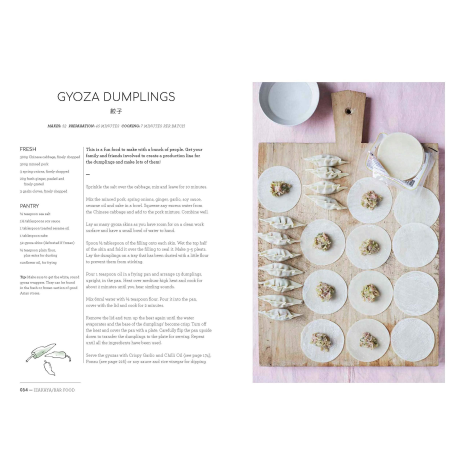 Japanese Food Made Easy Cookbook example page 3