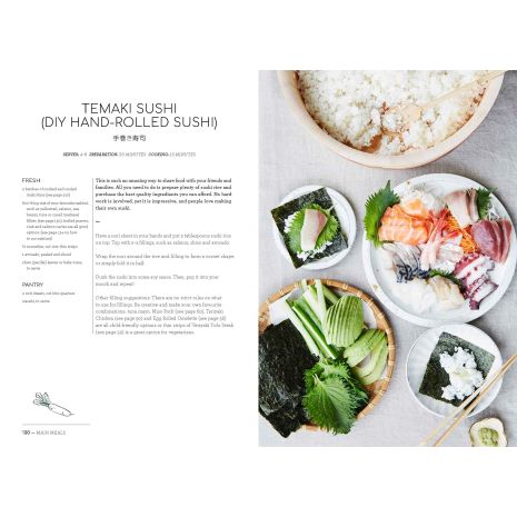 Japanese Food Made Easy Cookbook example page 5