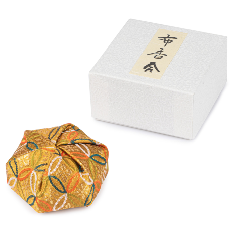 Gold Floral Traditional Japanese Jewellery Box and gift box
