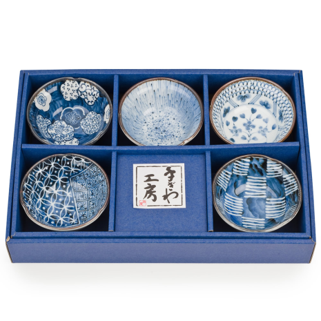 Osaka Japanese Bowl Gift Set with box