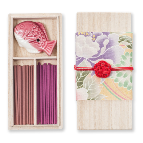 Plum Flower Japanese Incense Set