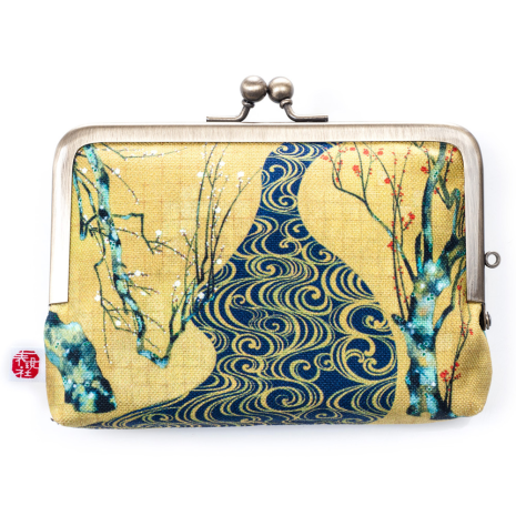 Plum Tree Japanese Coin Purse