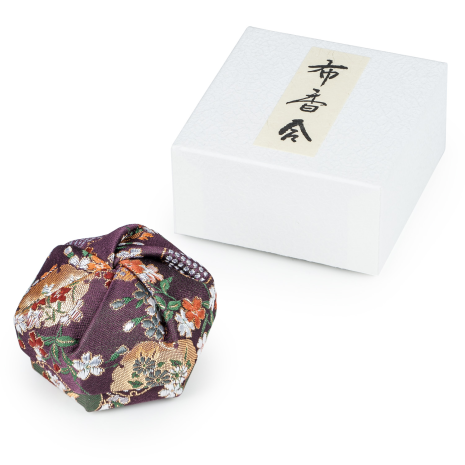Purple Floral Traditional Japanese Jewellery Box and gift box