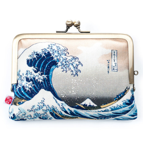 The Great Wave Japanese Coin Purse