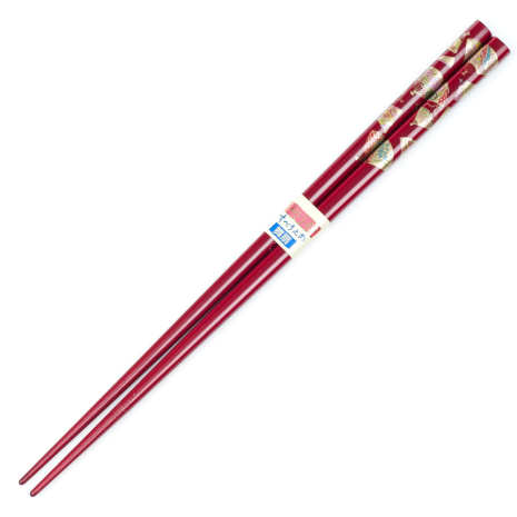 Wine Red Fan Chopsticks