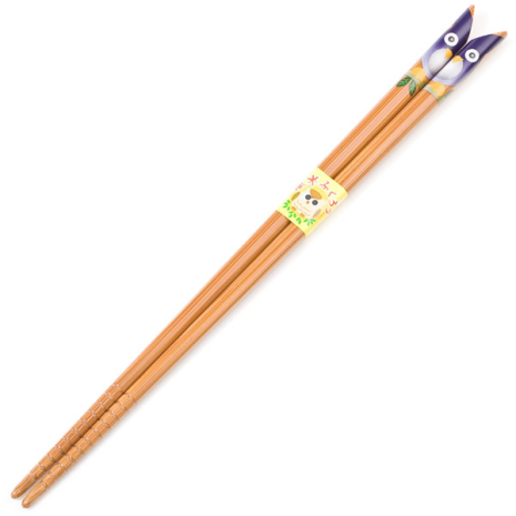 Blue Owl Japanese Bamboo Chopsticks