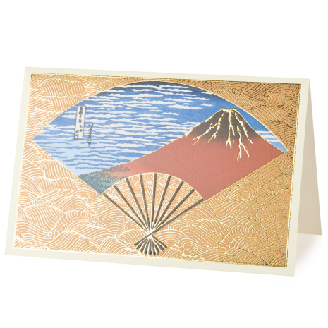 Mount Fuji Japanese Greetings Card