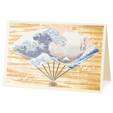 The Great Wave Japanese Greetings Card