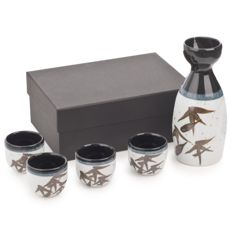 Sasa Japanese Sake Set and gift box