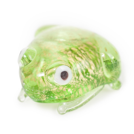 Miniature Crystal Japanese Lucky Frog