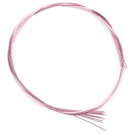 Shiny Light Pink Japanese Mizuhiki Cords