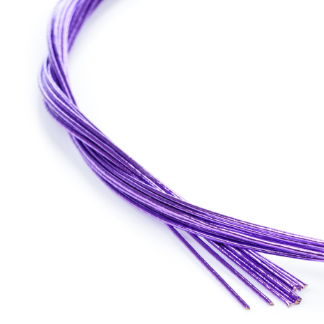 Shiny Purple Japanese Mizuhiki Cords