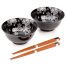 Ginsai Sakura Japanese Bowl Set