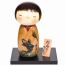 Success Childrens Day Wooden Kokeshi Doll with stand