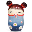 Memory Blue Trinket Box Kokeshi Doll