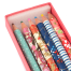 Washi Paper Coloured Japanese Pencil Box detail