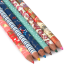 Washi Paper Coloured Japanese Pencil Box open