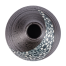 Charcoal Floral Mini Japanese Vase top