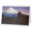 Snow Capped Mount Fuji Japanese Notecard