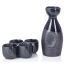 Black Nanban Traditional Japanese Sake Set