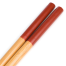 Red Wooden Japanese Cooking Chopsticks handle