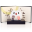 Feng Shui Good Health Japanese Lucky Owl with base and screen