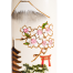 Mount Fuji Japanese Wood Kokeshi Doll Close Up