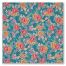 Small Blue Floral Japanese Furoshiki