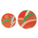 Red and Green Japanese Stickers Pack 20