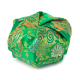 Green Floral Traditional Japanese Jewellery Box
