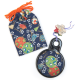 Blue Japanese Compact Mirror